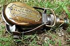 Antique-Style-Ships Pocket-Monocular-Brass Telescope-with-Leather-Box. C-3232