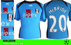 *06 / 07 - AIRNESS ; FULHAM AWAY SHIRT  SS / McBRIDE 20 = SIZE*