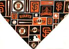 San Francisco Giants Squares Dog Bandana MLB Dog over the collar / New design