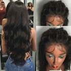 wigs for black women Real brazilian virgin human hair full lace wig lace front