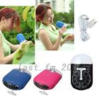 Mini Convenient USB Rechargeable Handheld Air Conditioner Bladeless Fan