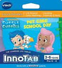VTech InnoTab 1 2 3 3S MAX Bubble Guppies - Pet Care School Day Games Software