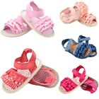 Newborn Baby Girl Lace Flower Soft Sole Princess Crib Summer Sandals Shoes 0-18M