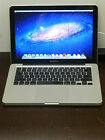 "Apple Macbook Pro A1278 13.3"" Intel Core 2 Duo 8GB RAM 640GB HDD OSX Lion Silver"