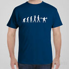 Funny cool T-shirt EVOLUTION OF SQUATS gym gift idea - bodybuilding workout tee