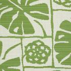 New SUNBRELLA Indoor Outdoor Upholstery FABRIC TROPICAL LEAF Green ONE YARD