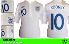 *11 / 13 - UMBRO ; ENGLAND HOME SHIRT SS / ROONEY 10 = SIZE*