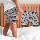 Baby Kid Casual Boys Dinosaur Pattern Beach Pants Trousers Shorts For 2-7 Years