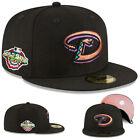 New Era Arizona Diamondbacks Fitted Hat MLB 01 World series Pink Under Brim Cap