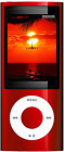 amazoncom apple ipod nano 16 gb red 5th generation - 140×105