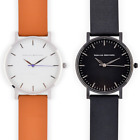 New Men's Minimalist Watch - Sapphire Glass Swiss Ronda Stainless Steel 40x7MM