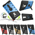 Shockproof Armor Hybrid Heavy Duty PC+ TPU Slim Kickstand Case Cover For phone