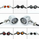 Motorcycle Turn Signal Blinker Indicator Lights Fit Harley Softail Amber Ediors