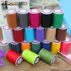 Professional 8 Strands Waxed Lined Thread 0.6mm 85 hand sewing leathercraft