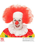 IT Clown Headpiece Red Scary Halloween Pennywise Fancy Dress ReMake 80s