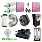 PREMIUM GROW TENT CFL LED GROW LIGHT INLINE FAN FILTER HYDROPONIC SYSTEM  KIT