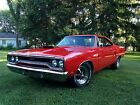 Muscle  PlyMouth GTX 1970 HD Art Poster24x46in/36x64in Canvas/GlossyPrint