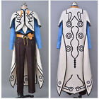 Aselia the Tales of Zestiria X Sorey Cosplay Costume White Cape Coat Suit Outfit