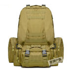 55L Outdoor Tactical Military Rucksacks Molle Large Backpack Camping Hiking Bags