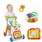 2 IN 1 MUSICAL BABY ACTIVITY PUSH WALKER  PLAY STATION STROLLER SIT & PLAY UK