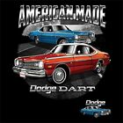 Dodge Dart American Made Adult Unisex T Shirt 21139D $17.99 USD