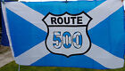 ROUTE 500 SALTIRE FLAG  NOT ROUTE 66