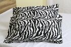 2 Qty Pillow Case In 5 Size Egyptian Cotton 1000 TC Zebra Print Only Us
