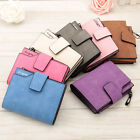 Casual Women Wallet Short Purse Ladies Money Credit Card Holder with Coin Zipper