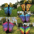 Fashion Womens Colorful Long Neck Butterfly Wing Cape Stylish Soft Scarf