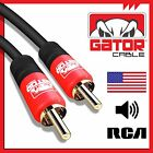 6FT 1 RCA Male To 1 RCA Male M/M Composite Audio Video Subwoofer Digital Cable