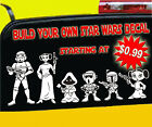 Star Wars Stick Figure Family Vinyl Decal Sticker Car Window Wall Laptop Cartoon $1.49 USD on eBay