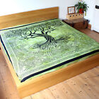 Tree of Life Spirit Of Trees bedspread throw Fair Trade backdrop Celtic Pagan