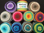 WOOLCRAFT CAKES WOOL/YARN 200 Gram Ball PAY NO MORE THAN £2.60 MAXIMUM POSTAGE