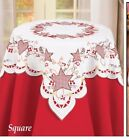 Northwoods Embroidered Table Topper