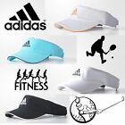 adidas Womens Tennis Golf Visor Climalite Black White Samba Sports Gym Cap