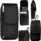2 in 1Universal Nylon Belt Loop Case Cover Holster Pouch for Large Mobile Phone