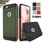 Shookproof Protection Hybrid TPU Armor Hard Back Case Cover For iphone 6S 7 Plus