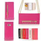 Fashion Shoulder Bags Wallet Flip Smooth PU Leather Card Holder Strap Case Cover