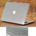 "2in1 Silver Glitter Bling Crystal Hard Case for MacBook Air Pro 13"" 15""Touch Bar"