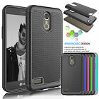 For LG Stylo 3 / Stylus 3 Phone Cover Shockproof Rugged Impact Rubber Hard Case