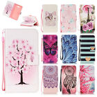 Magnetic Flip Stand Card Slot Wallet PU Leather+TPU Case Cover For Various Phone