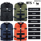 New BTS X AGATHA Travel Edition Canvas Backpack Rucksack Bookbag Knapsack Unisex