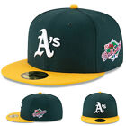 New Era Oakland Athletics 5950 Fitted Hat Classic Authentic Grey Underbrim Cap on Ebay
