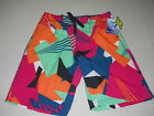 Brand New Kanu Surf Board Shorts Men's Vertigo Swim Suit Trunks Multi Navy Black