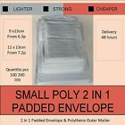 SNO-P1-P2-7.2p Small-Sizes-Poly-Bubble-Wrap-Mailing-Padded-Bags-Cheap-Envelopes