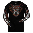 Harley-Davidson Men's Stripe it Up Long Sleeve Tee R002008 $35.0 USD