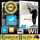 (Wii Game) 007: Quantum Of Solace (James Bond) (M) (Shooter & Action) PAL $13.9 AUD
