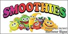 (CHOOSE YOUR SIZE) Smoothies DECAL Concession Food Truck Vinyl Sign Sticker