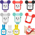Cute Rabbit Mickey Mouse Ears Soft Silicone Protective Case for Apple Watch 1/2