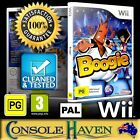 (Wii Game) Boogie (PG) (Music / Dance / Sing) PAL, Guaranteed, Cleaned, Tested